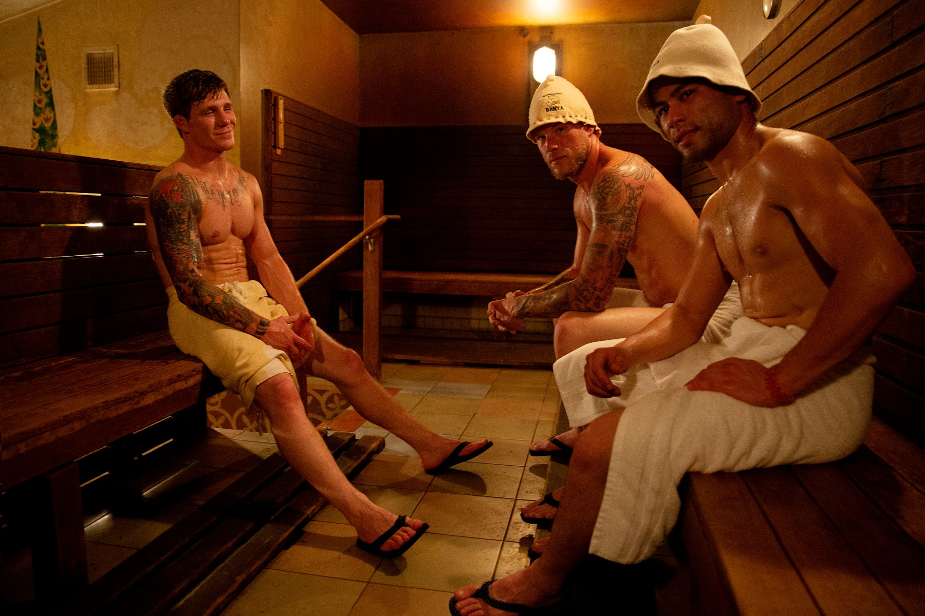 sauna at home coronavirus