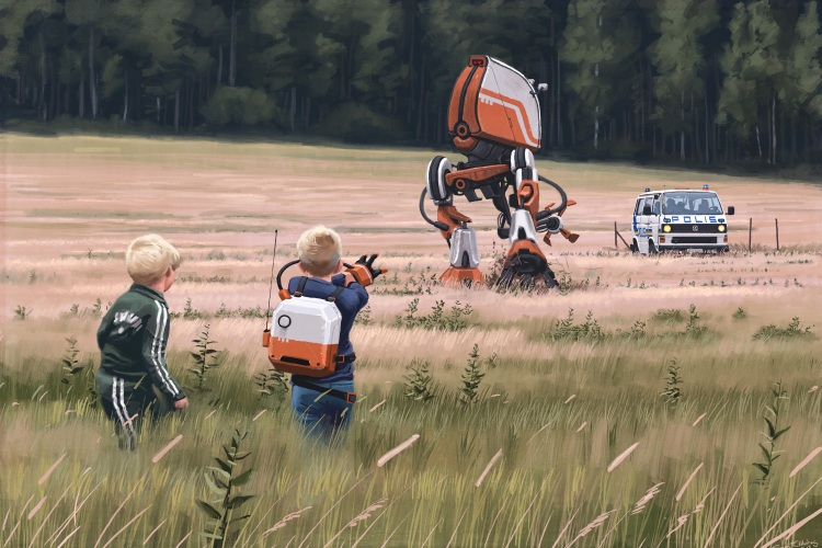 Simon Stålenhag's Tales From the Loop