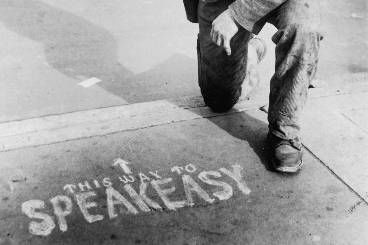new york illegal speakeasy