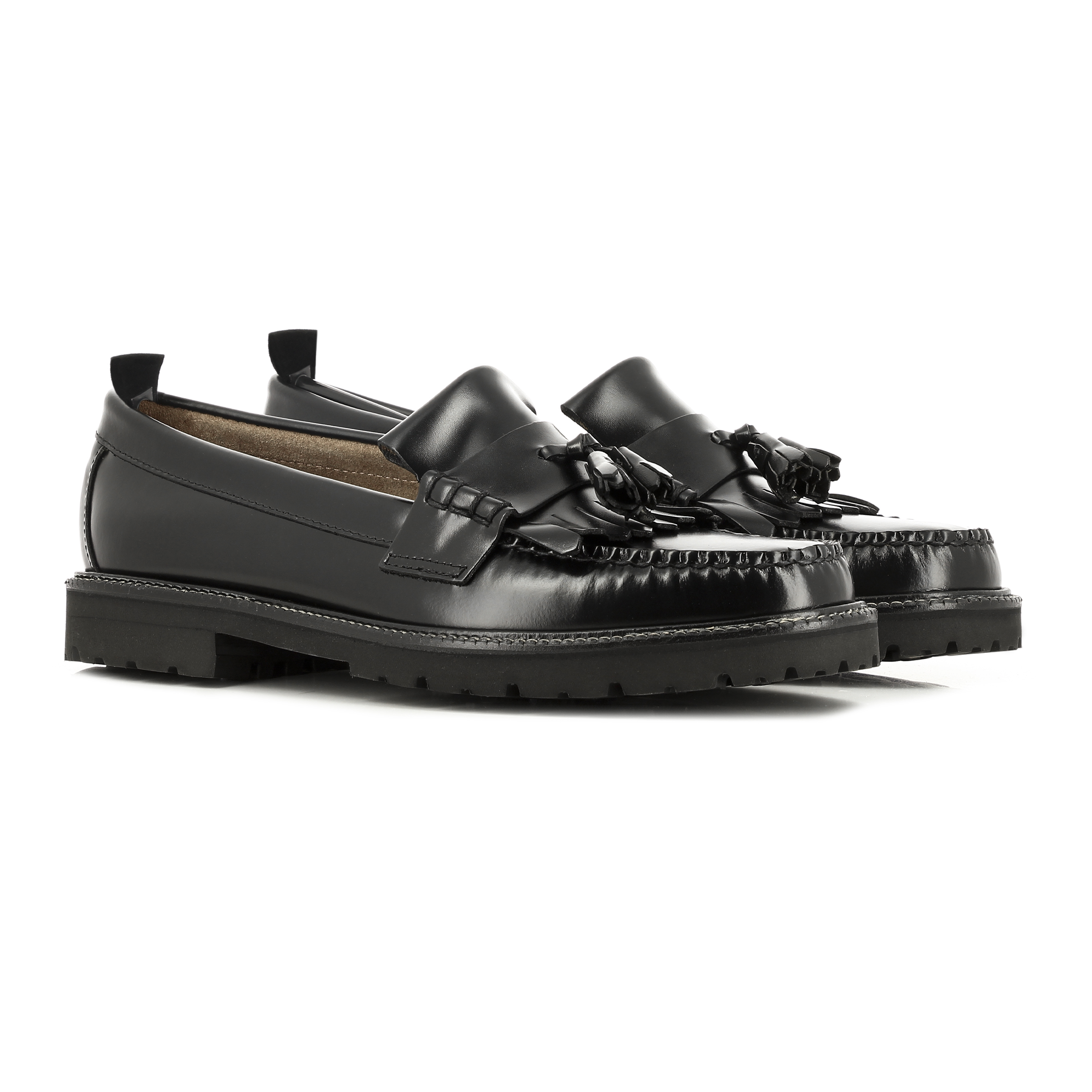 bass fred perry tassel loafer