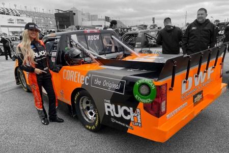 Angela Ruch NASCAR Truck Series