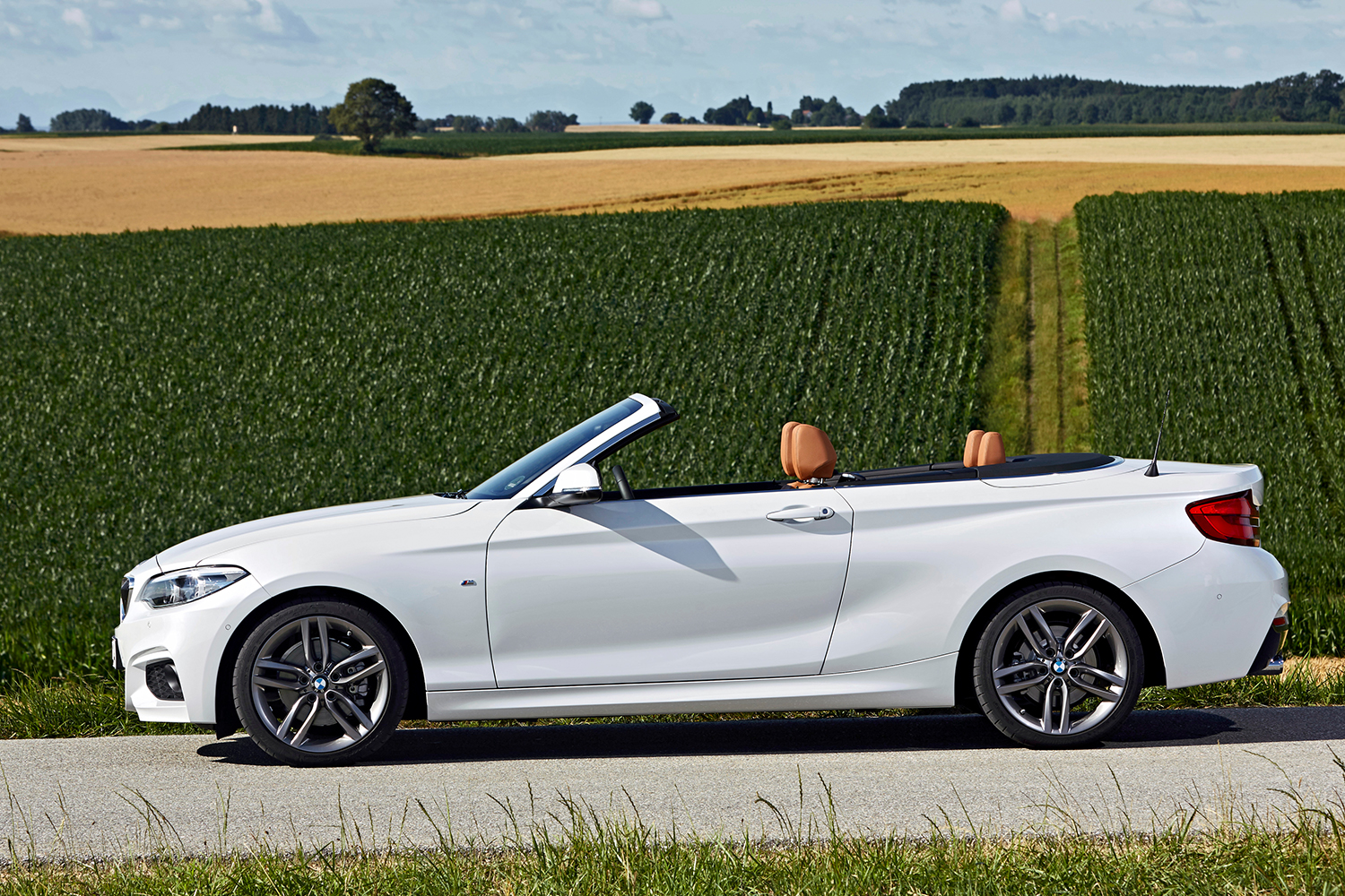 2020 BMW 2 Series convertible in the country