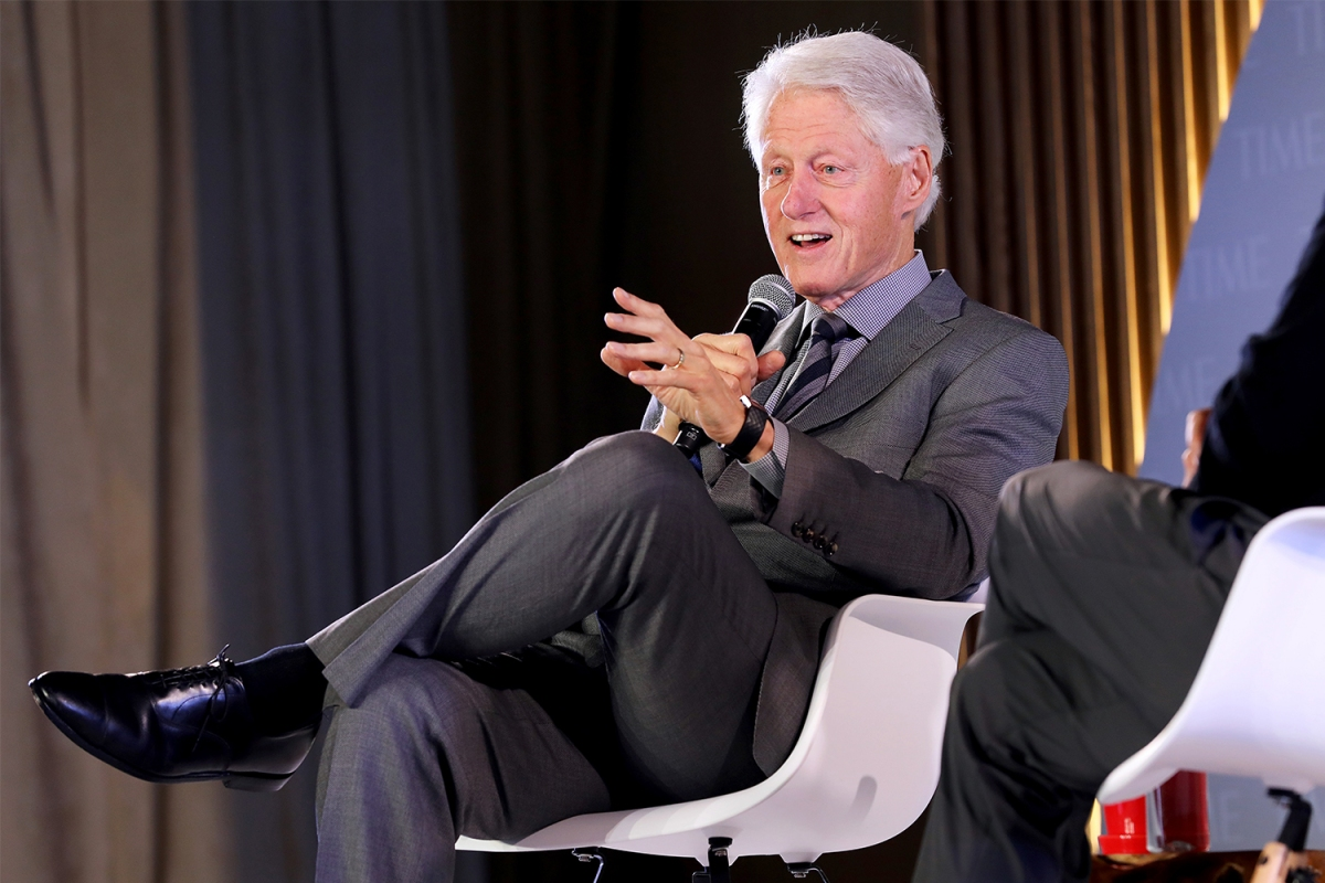 President Bill Clinton at the Time 100 Health Summit