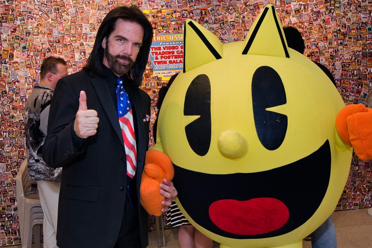 Donkey Kong arcade champion Billy Mitchell in 2014
