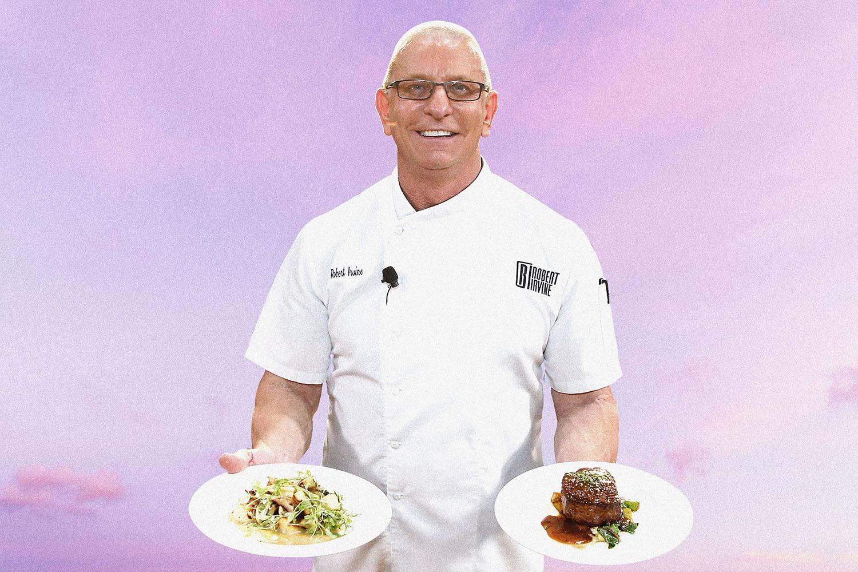 Robert Irvine First Meal Back