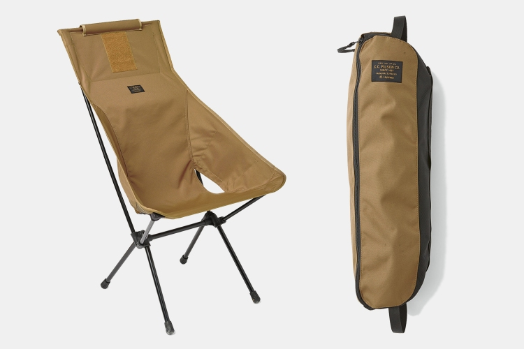 Filson Helinox packable camp chair