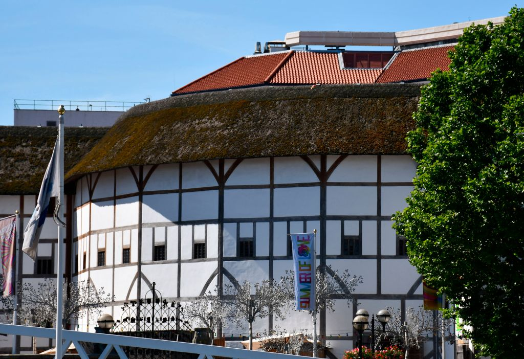 Reconstructed Shakespeare's Globe Theatre, South Bank, London, UK