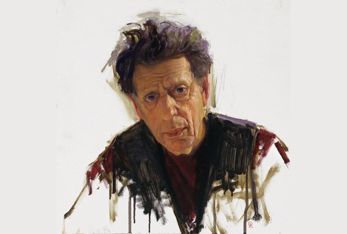 Portrait of Philip Glass
