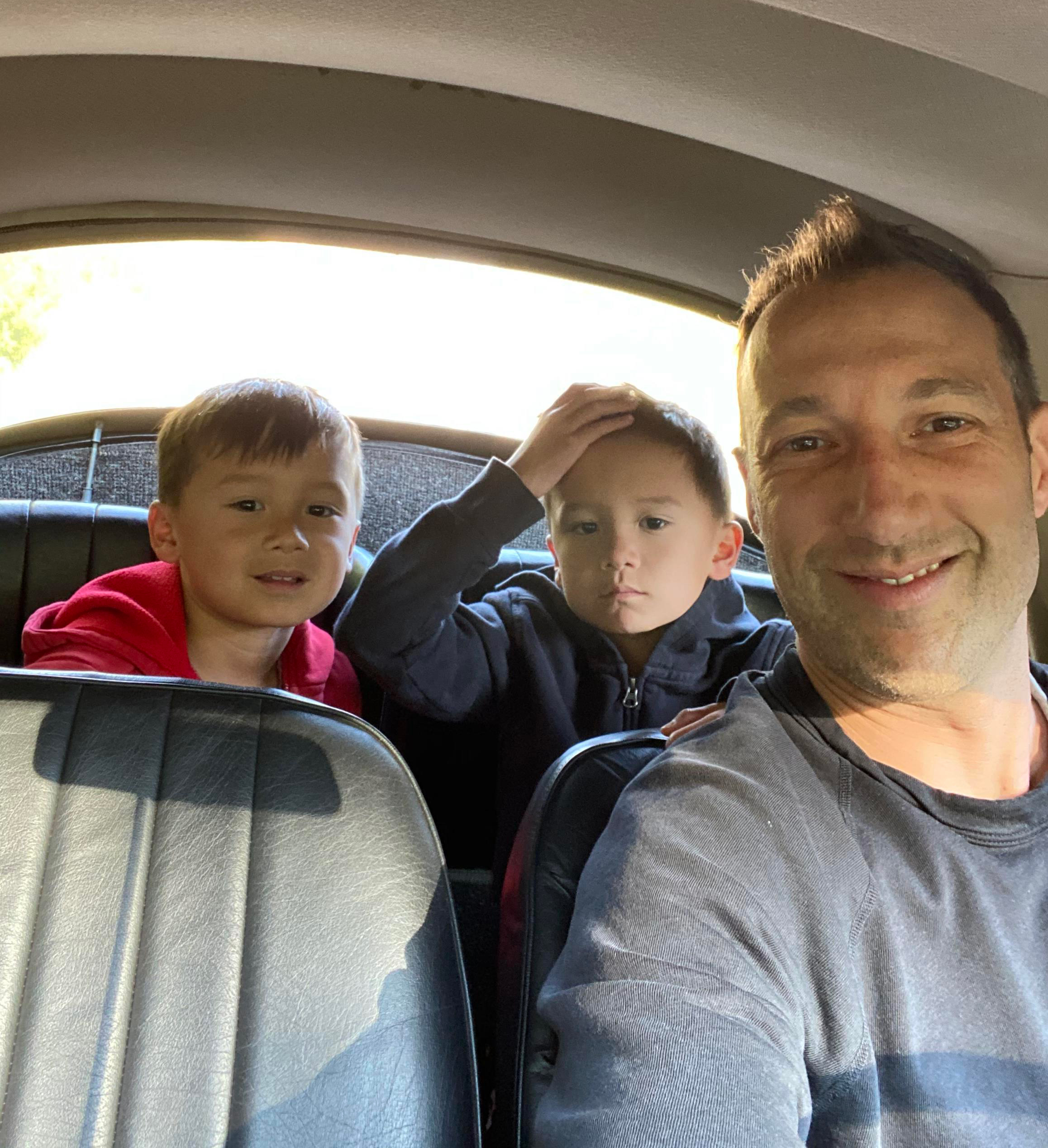 Dr. Evan Goldstein and his two kids