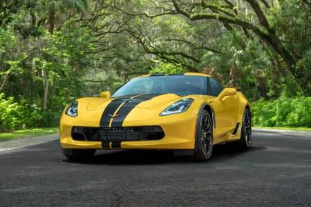 2019 Chevrolet Corvette Z06 Hertz 100th Anniversary Edition