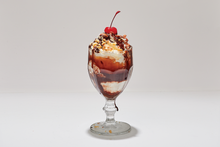 The Hot Tin Roof sundae at Morgenstern's Finest Ice Cream. (Morgenstern's Finest Ice Cream)
