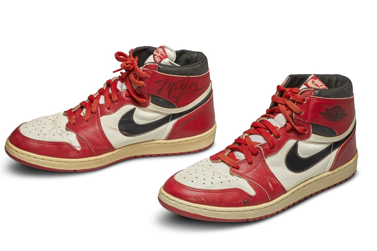 MJ's Game-Worn Nike Air Jordan 1s Could Be Yours