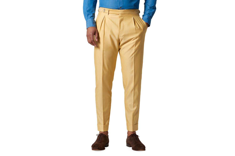 Nico Silk-Blend Pleated Trousers Zanella
