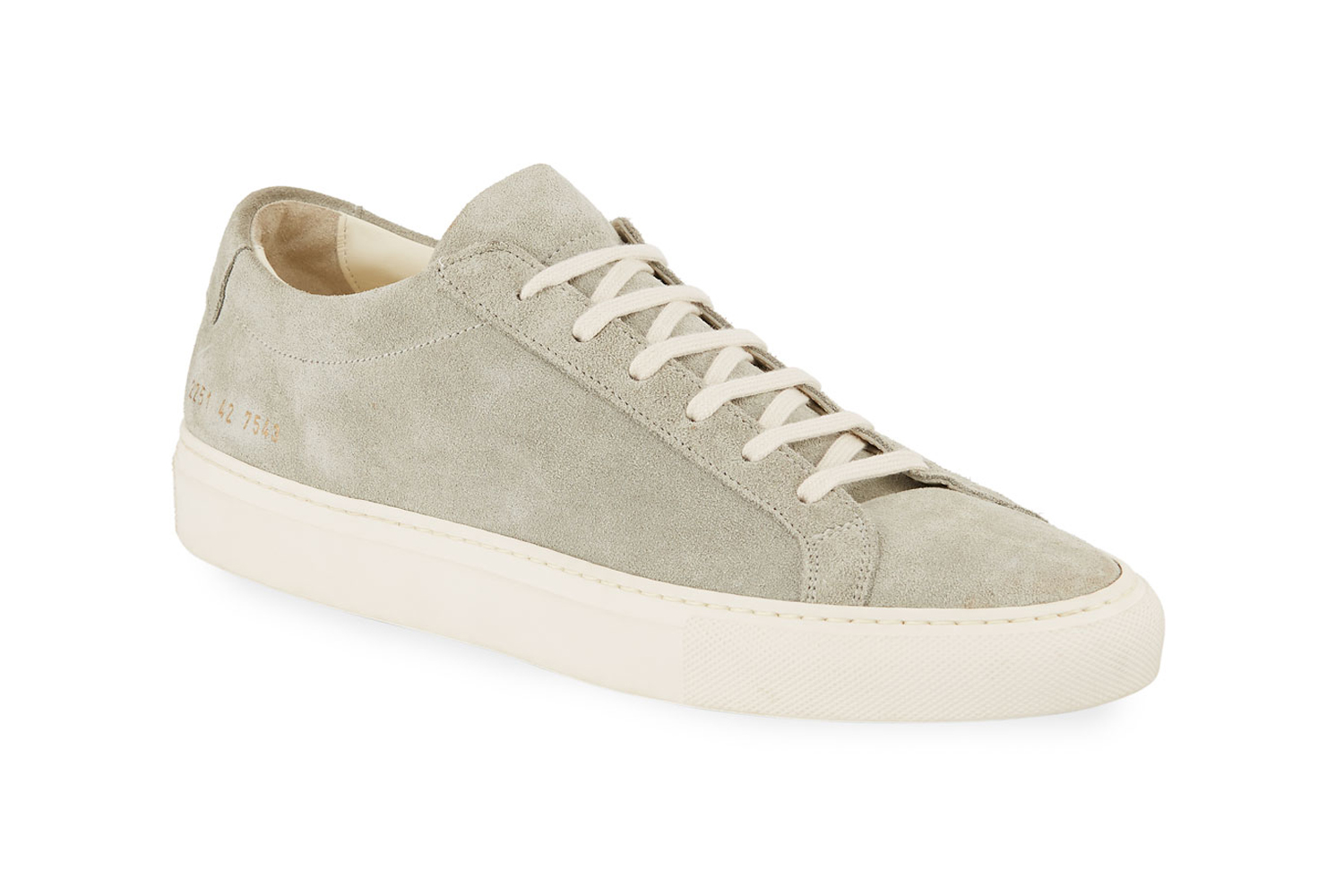 Achilles Suede Low-Top Sneakers Common Projects