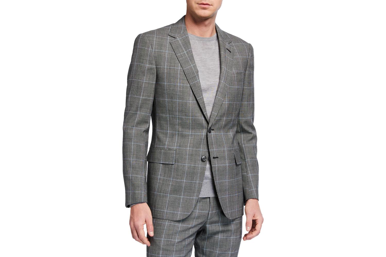 Check Two-Piece Suit Ralph Lauren Purple Label