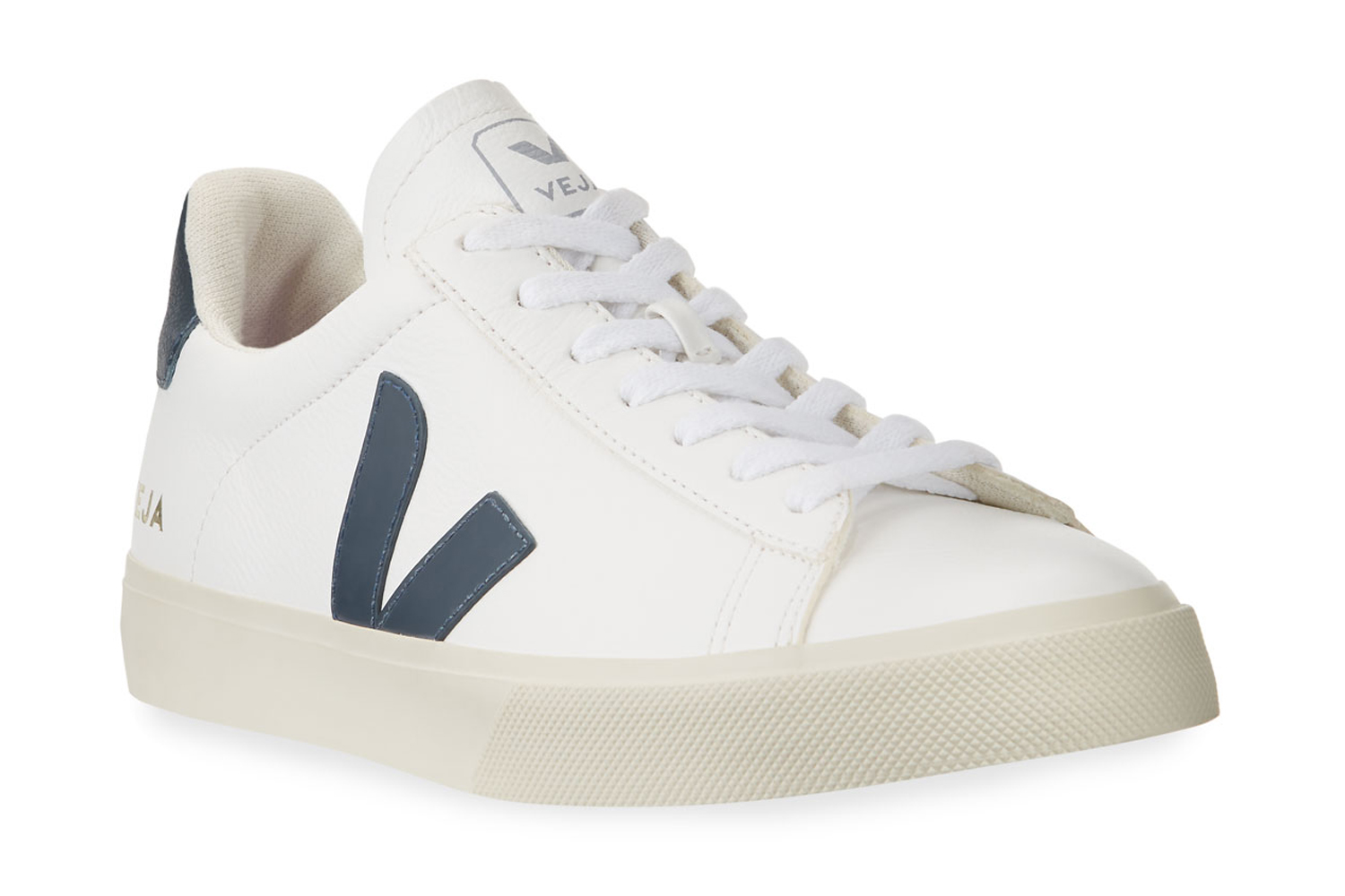 Campo Logo Leather Sneakers VEJA $140