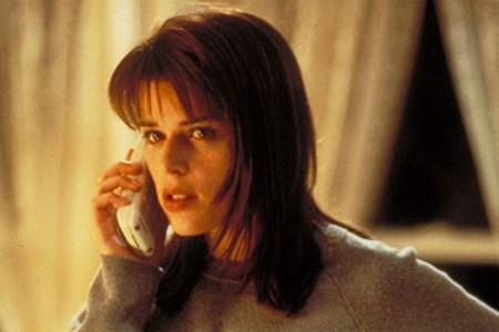 "Neve Campbell as Sidney Prescott in ""Scream"""