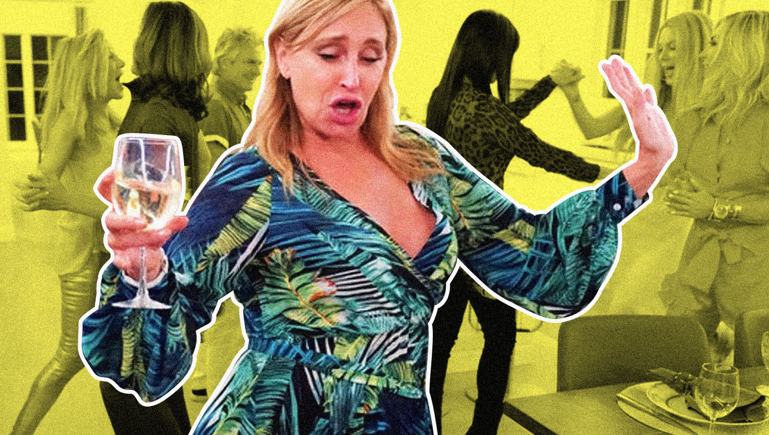 "Sonja Morgan on ""The Real Housewives of New York City."""