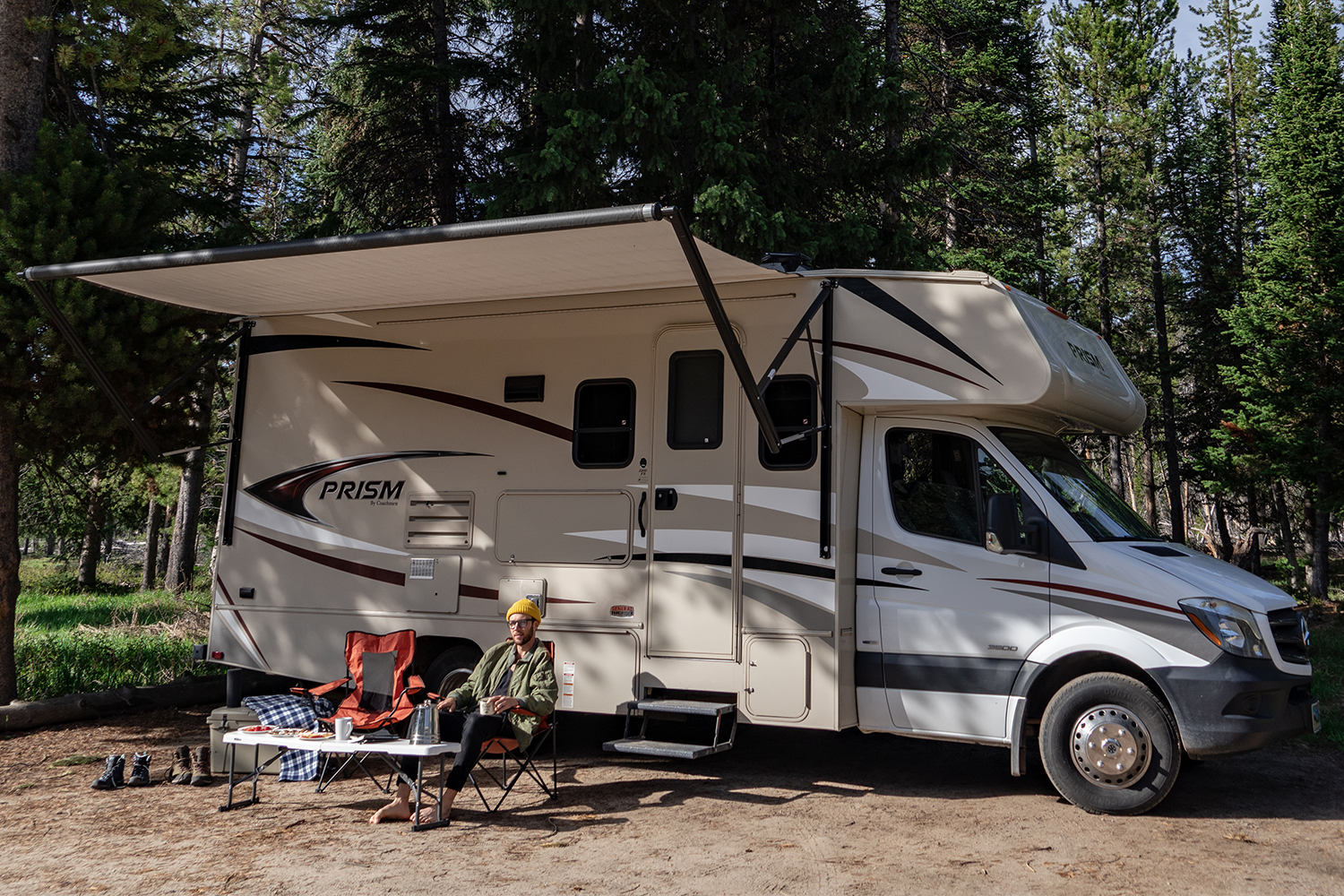 Vacationing in an RV