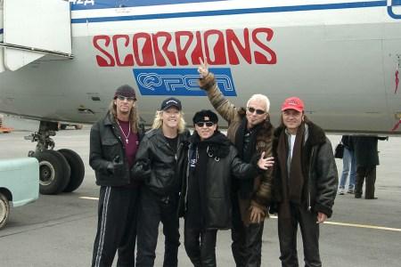 German hair metal band Scorpions in 2002