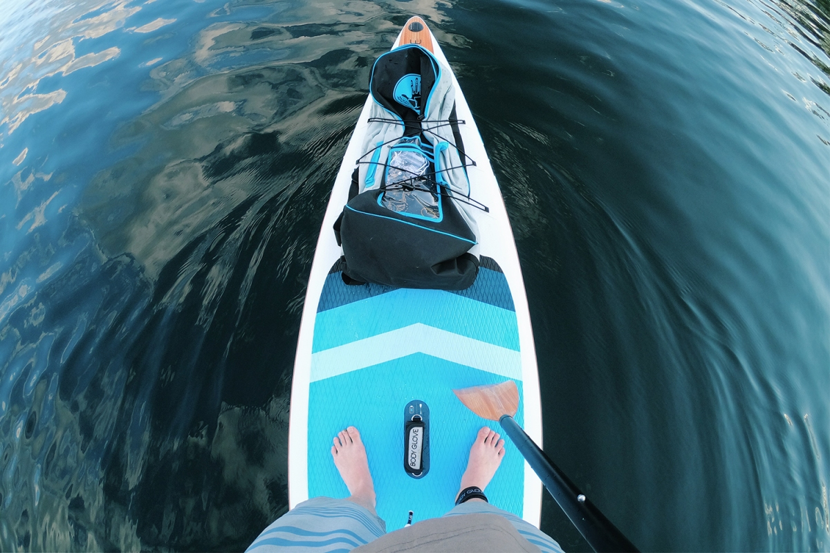 The Best Self-Isolation Outdoor Activity Is Stand-Up Paddleboarding