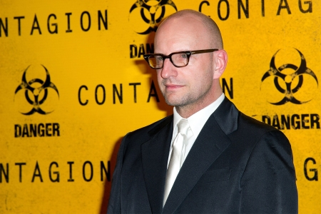 """Director Steven Soderbergh at the Premiere of """"Contagion"""" in Paris"""