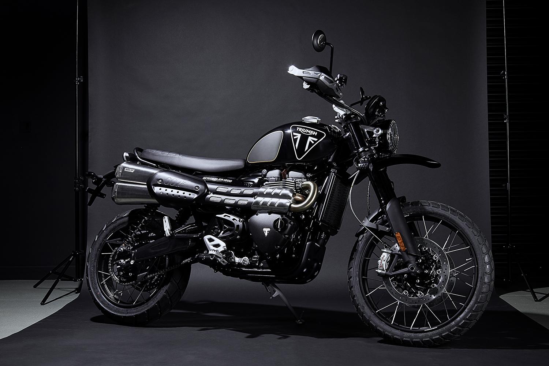 Triumph Motorcycles Scrambler 1200 Bond Edition