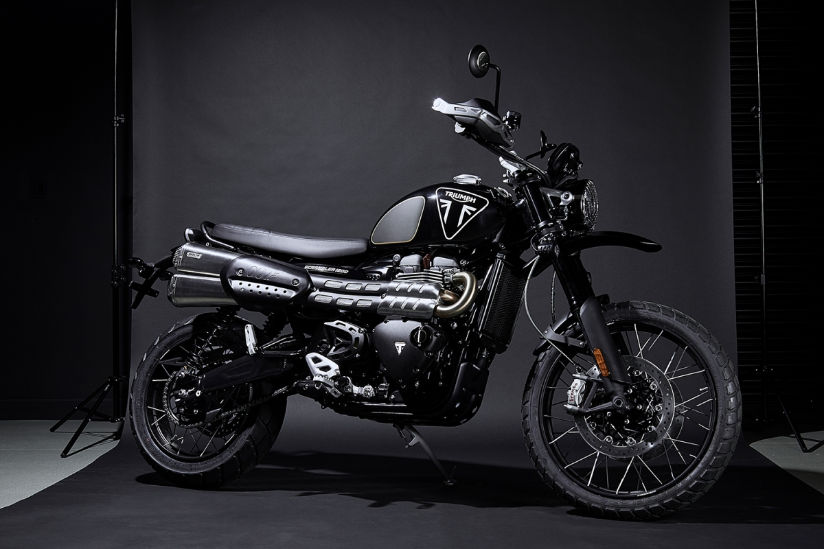 Triumph Releases First-Ever Official James Bond Motorcycle