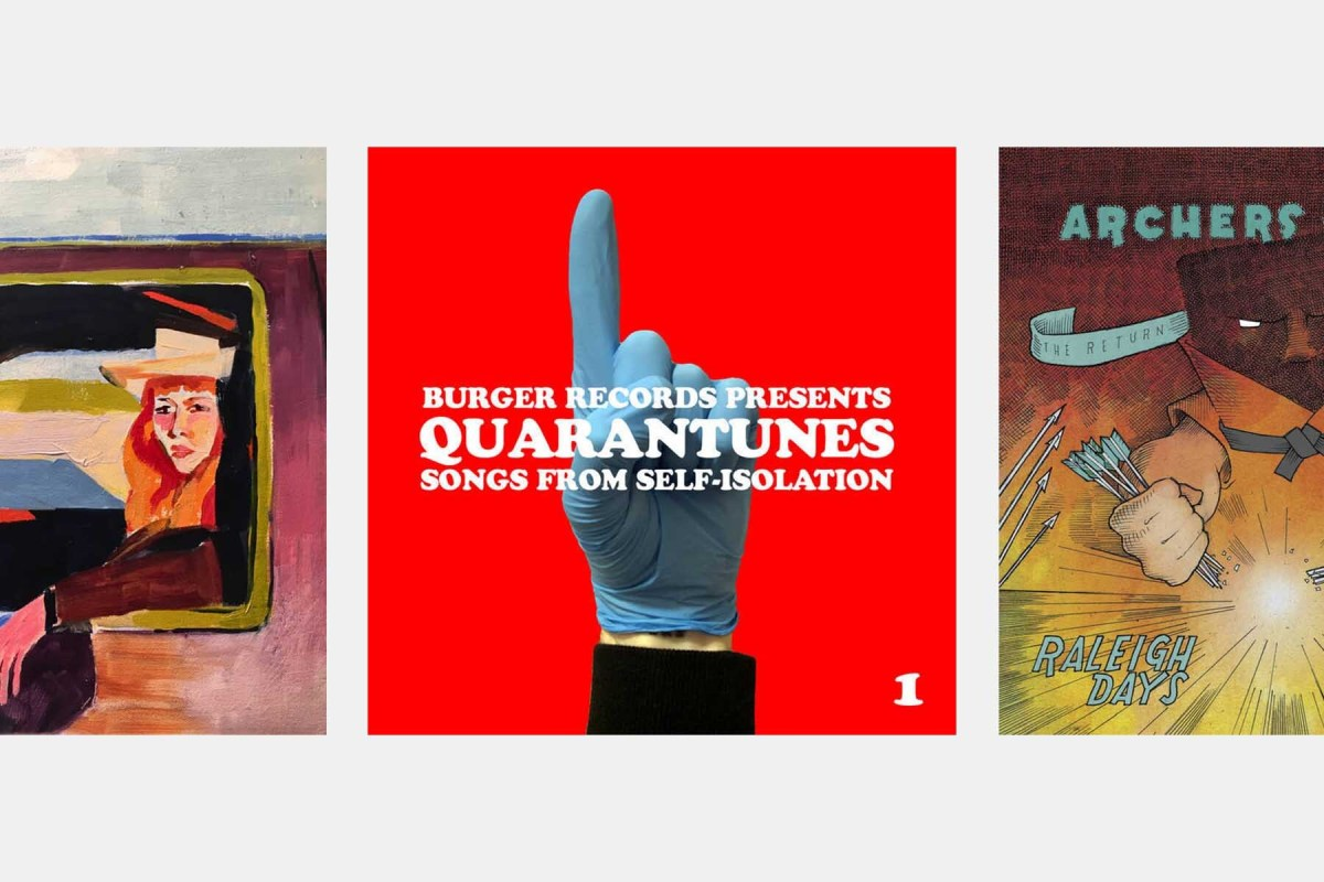 A few of the albums you can buy on Bandcamp today.