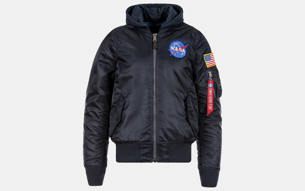 Alpha Industries MA-1 Hooded Bomber