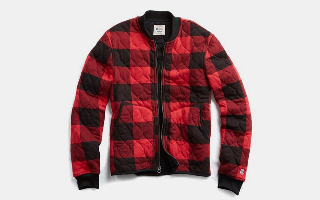 Todd Snyder Champion Quilted Bomber