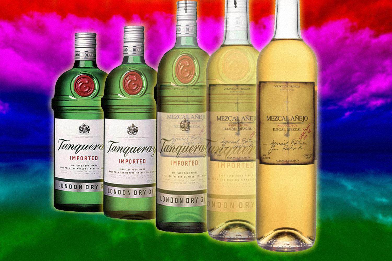 mezcal gin cocktails