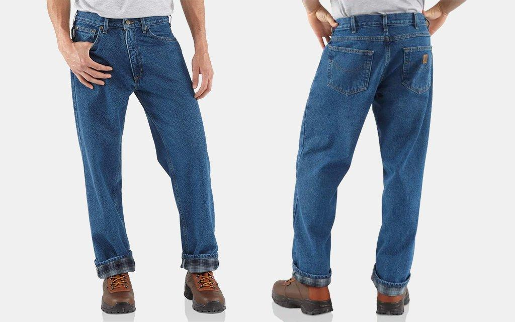 Carhartt Relaxed-Fit Straight-Leg Jean