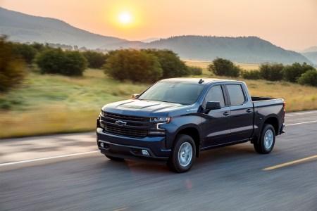 2020 Chevrolet Silverado RST pickup truck