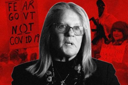 "Judy Mikovits in ""Plandemic"""