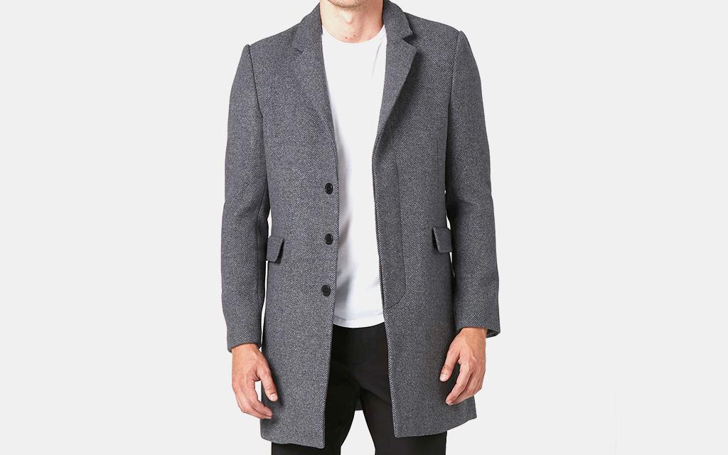 DSTLD Long Wool Coat
