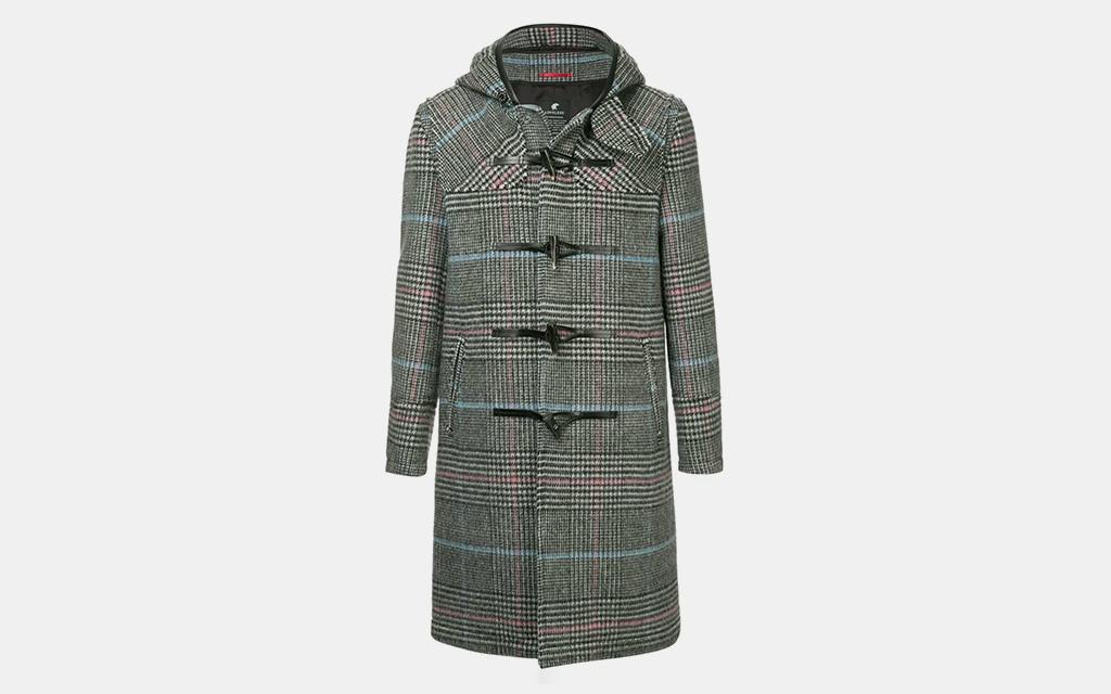 Loveless Check Print Duffle Coat
