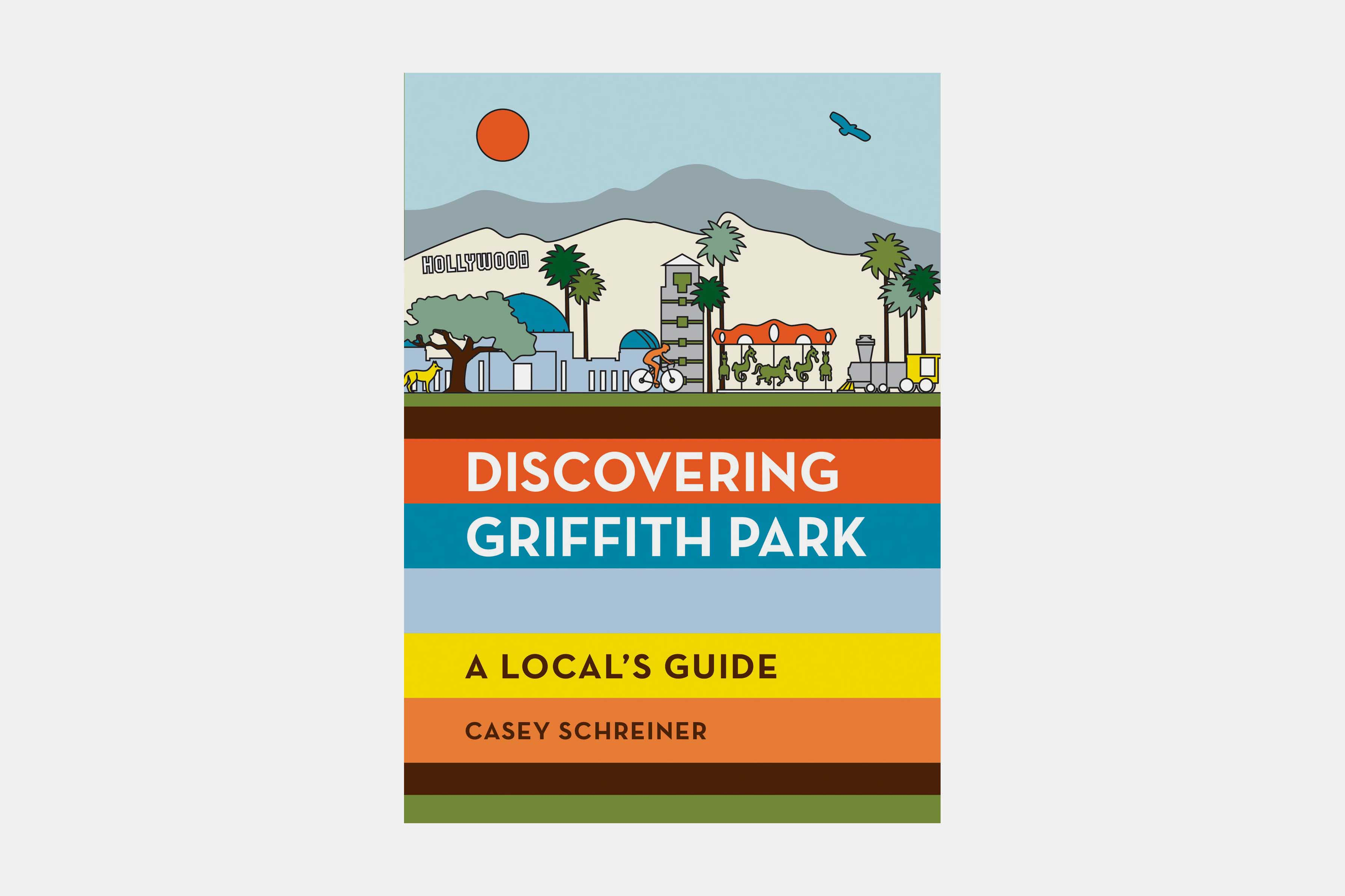 modern hiker discovering griffith park