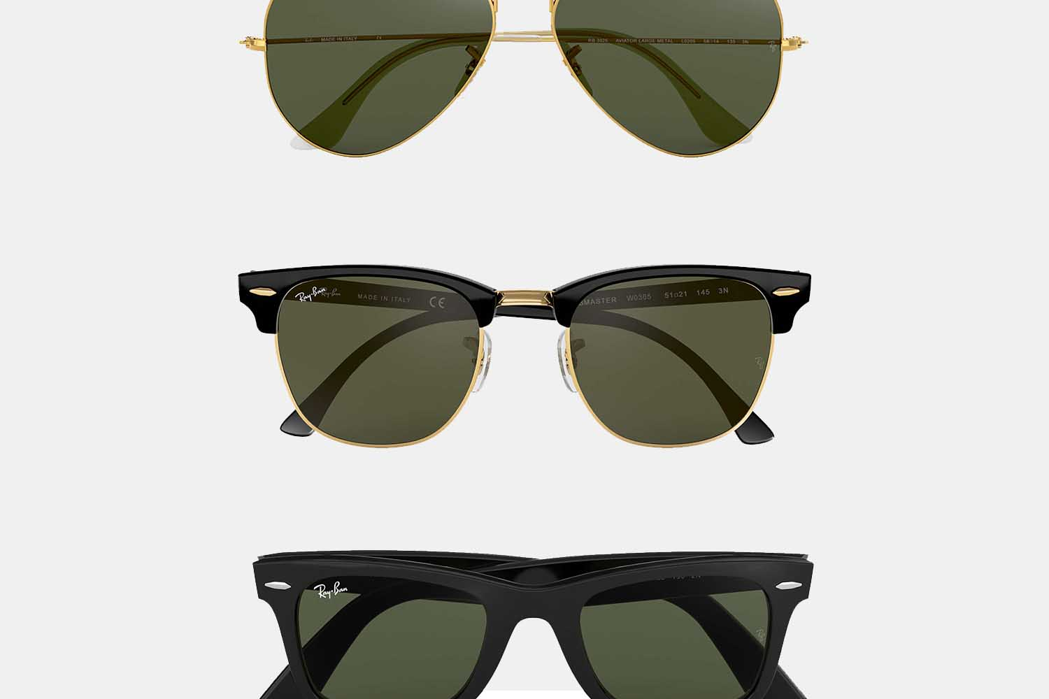 Deal: A Ton of Classic Ray-Bans Are on Sale