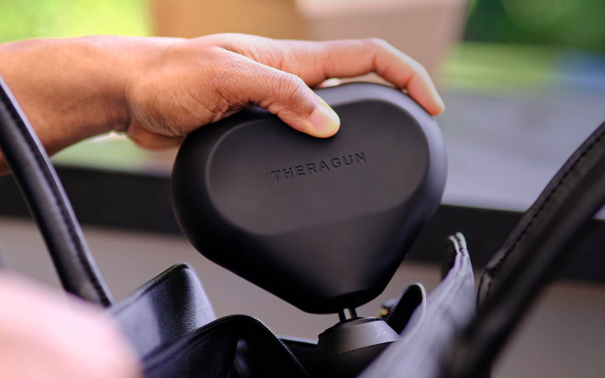 """Review: Theragun's """"Mini"""" Is Quieter, Just as Effective and More Affordable"""