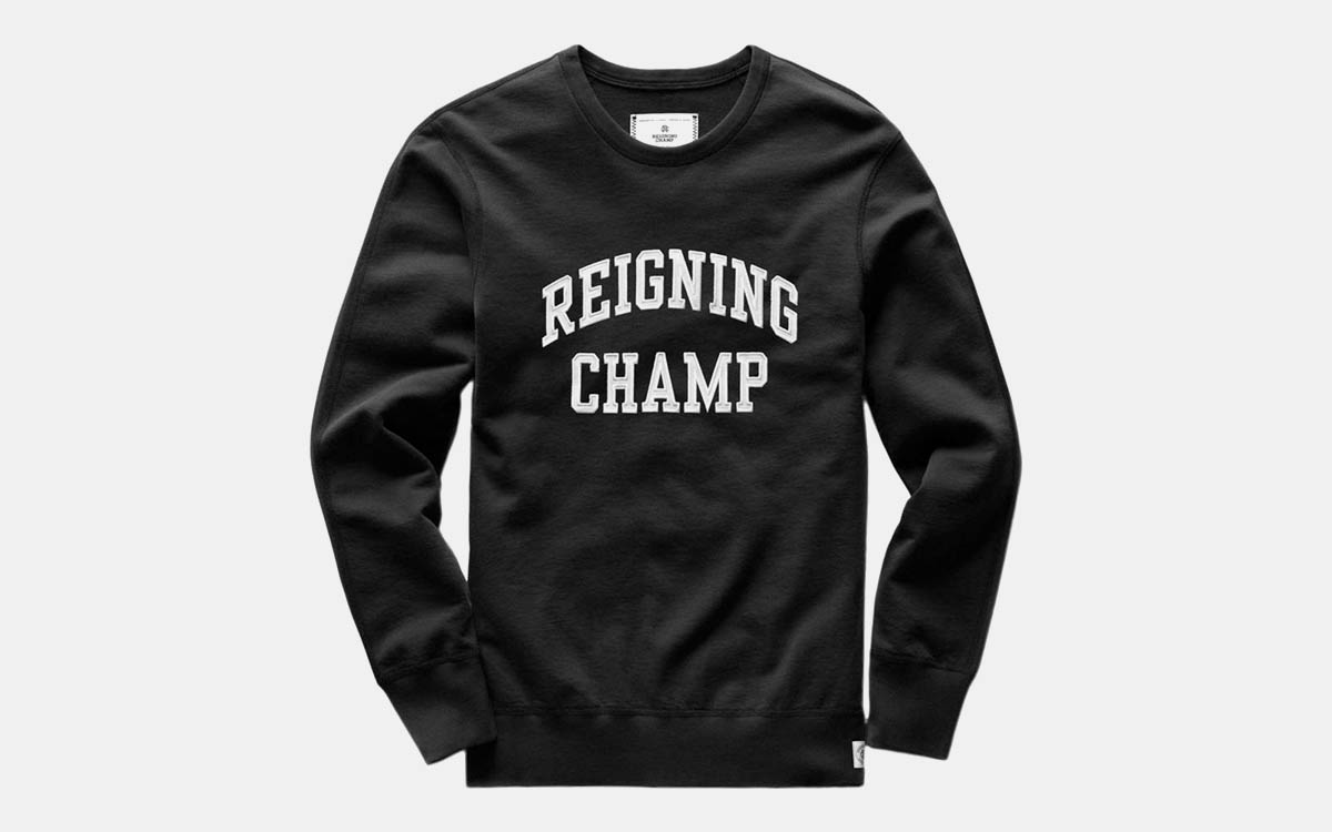 Deal: Reigning Champ Gear Is on Sale, Which Doesn't Happen Very Often