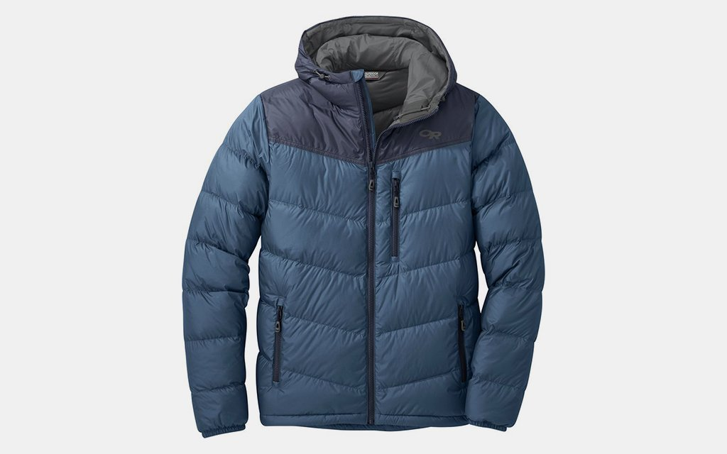 Outdoor Research Transcendant Hooded Down Jacket