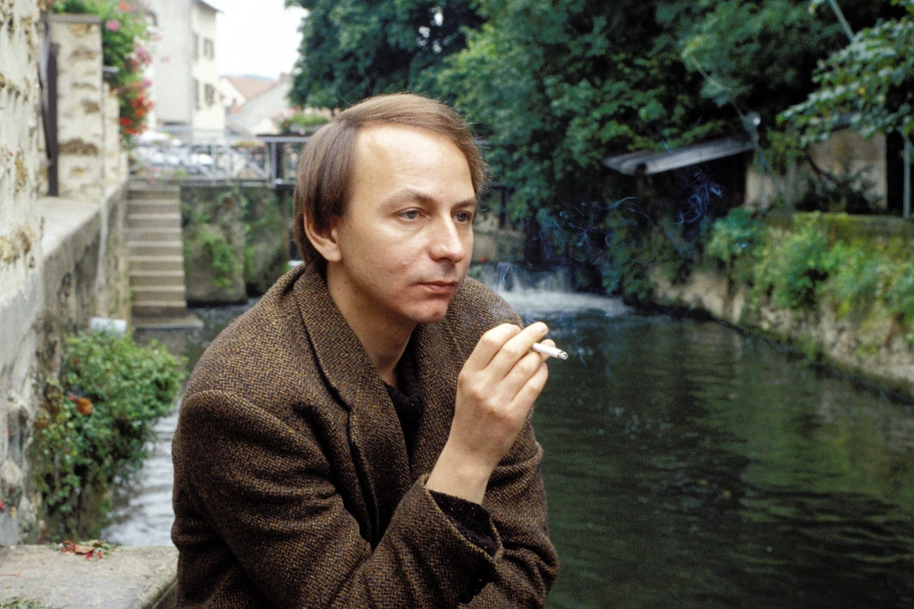 The writer Michel Houellebecq in France in September, 1995