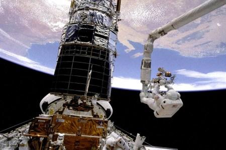 """I was doing spacewalks in zero gravity to repair the Hubble telescope."""