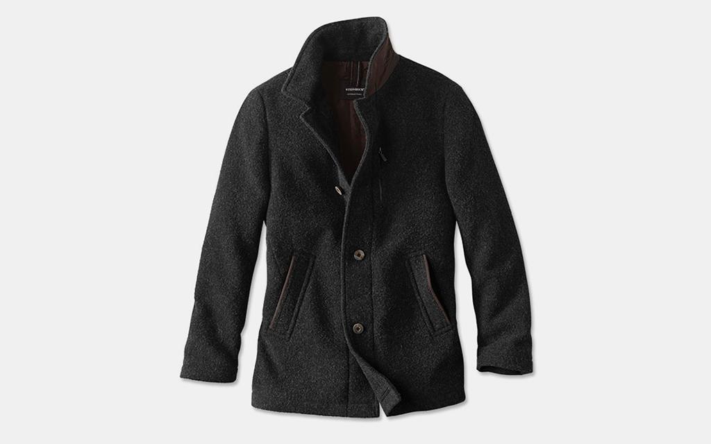 Orvis Black Sheep Wool Driving Coat