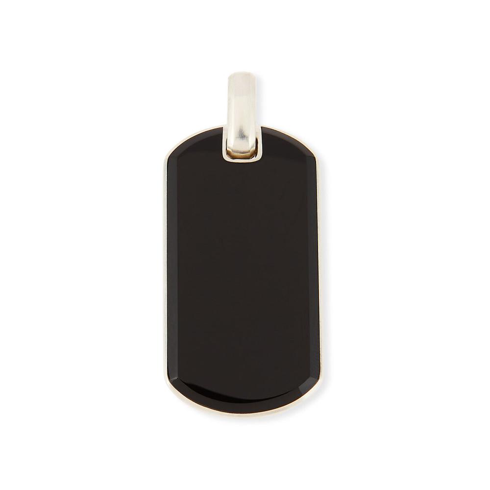 Exotic Stone Tag in Black Onyx David Yurman