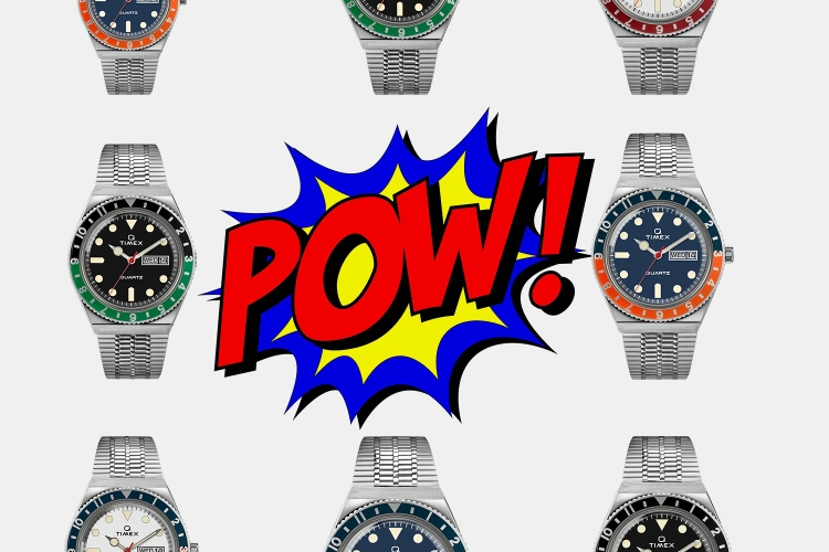 Products of the Week: Reissued Timex Watches, Polka Dot Levi's and Tie-Dye Tees