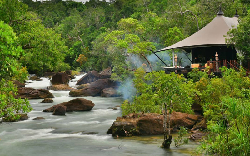 Shinta Mani Wild hotel thailan