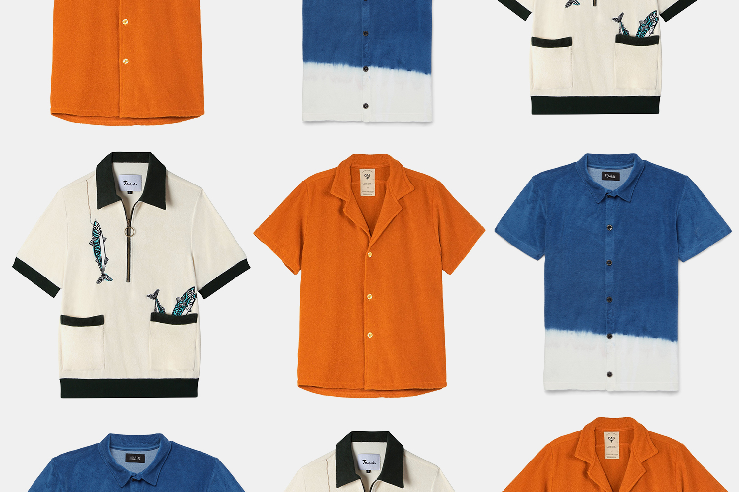This Summer, Consider the Terry Cloth Polo