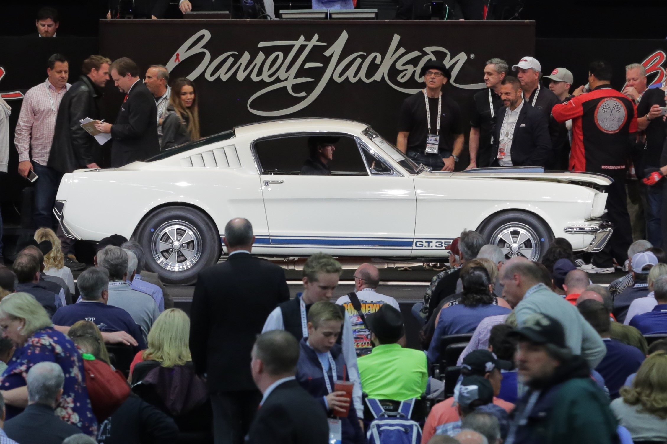 1965 Shelby GT350 sold by Barrett-Jackson